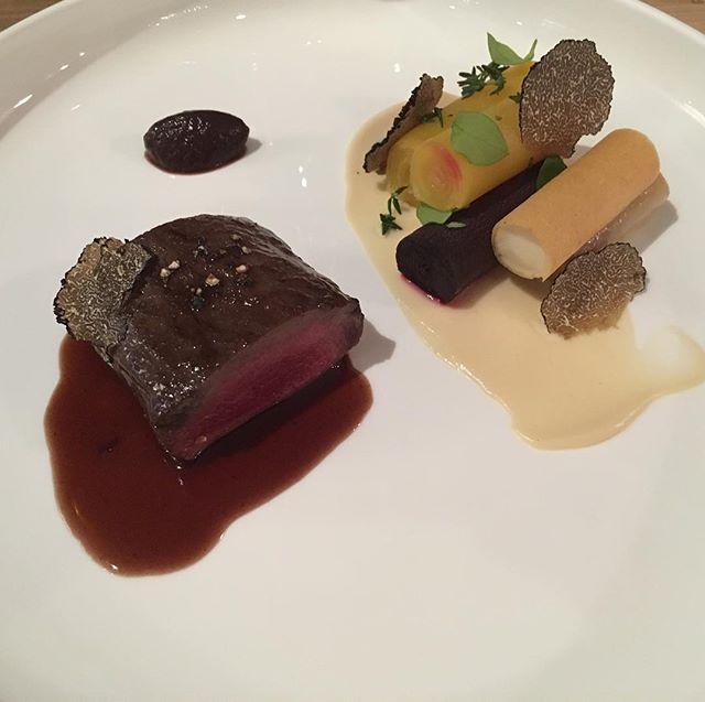 #chevreuil #truffe #accentstablebourse #restaurant #paris