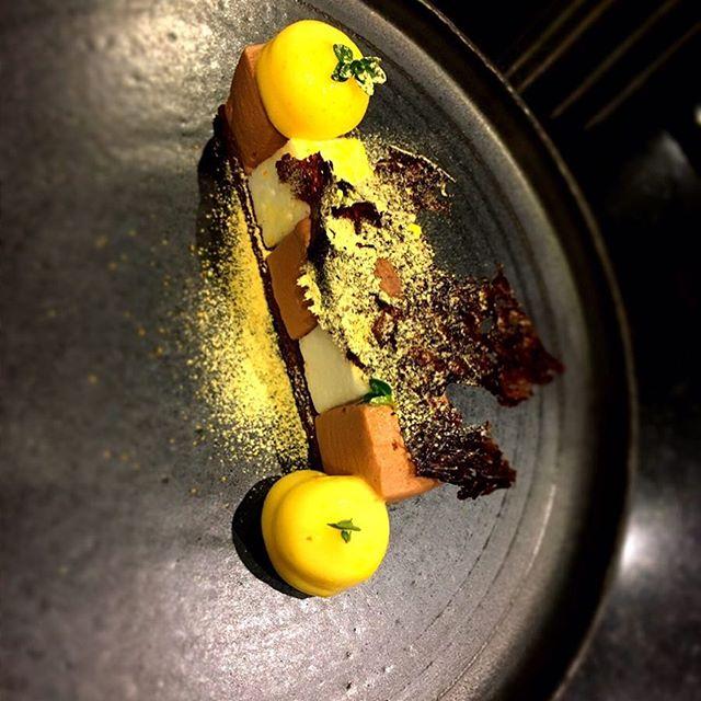 #chocolate #thym #mandarine #citron #accentstablebourse #paris #restaurant