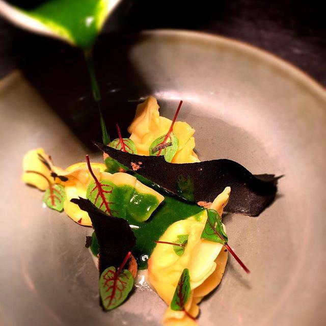 #ravioles #montdor #accentstablebourse #paris #restaurant #vegetarien