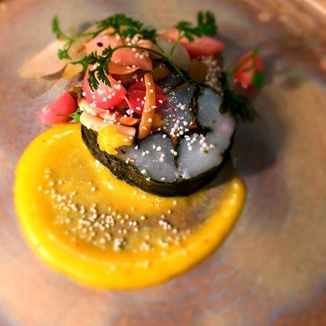#cabillaud #nori #agrume #sucrésalé #restaurant #paris #accentstablebourse