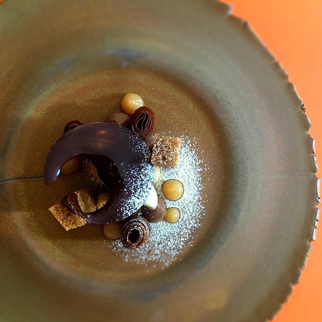 #chocolate #cafe #coing #accentstablebourse #gastronomy #paris #restaurant #foodstagram #restaurant #opera