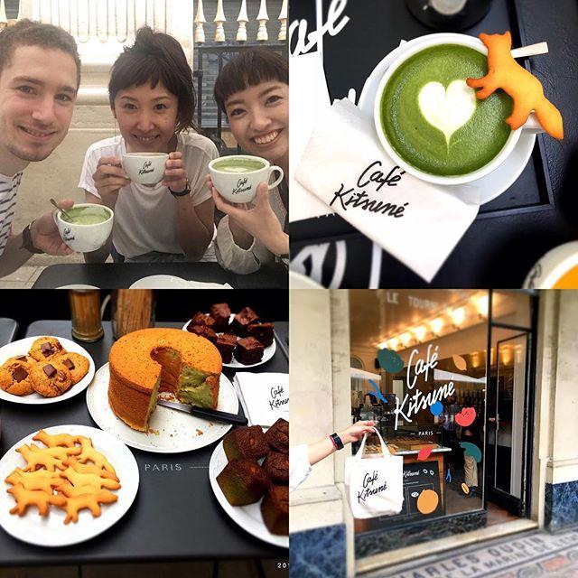 Vous allez trouver mon chiffon cake au pistache chez KITSUNÉ CAFÉ !!!!!!!!!!#chiffoncake #kitsunecafe #maisonkitsune #cafe #accentstablebourse #paris #palaisroyal #gastronomy
