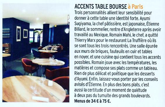 Merci Merci Merci pour ce superbe article @cuisineetvinsdefrance Et @sophiemenut !@romainmahi #ayumisugiyama @billardetienne #gastronomy #paris #article #gourmet #tableau #delicat #enjoy #saison #respectdessaisons #foodlover #chef #pastrychef #sommelier #accent @air_de_malice